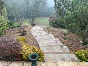 Les Jardins de Malo - escalier pavé